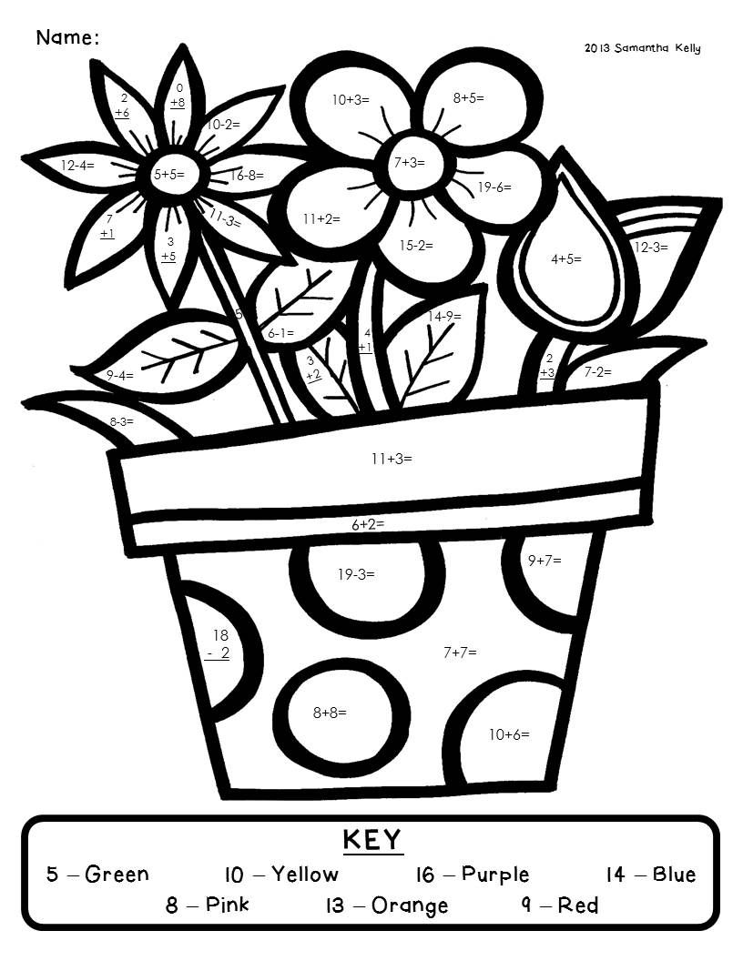 Coloring Pages 8th Grade Math