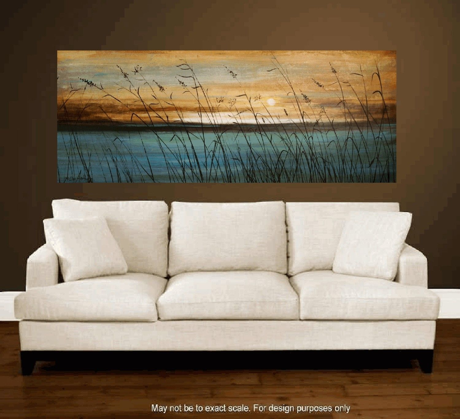 Big Sofa Jolina Abstract Art 72 Quot Original Abstract Landscape Painting With