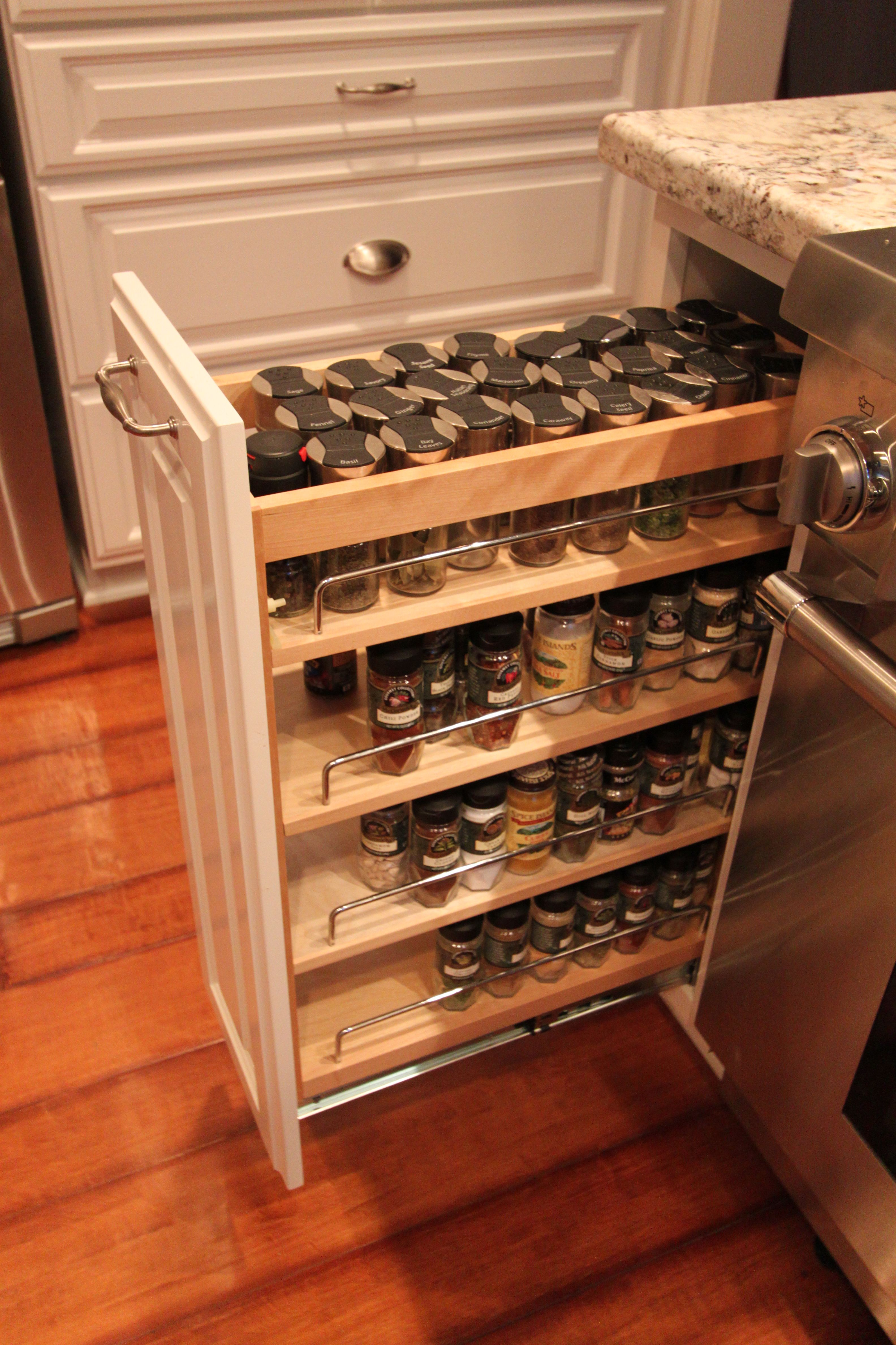 17 best images about kitchen solutions on pinterest spice racks wood insert and tel