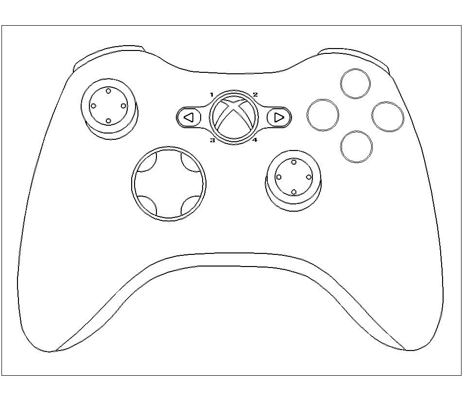 Xbox controller cake template google search
