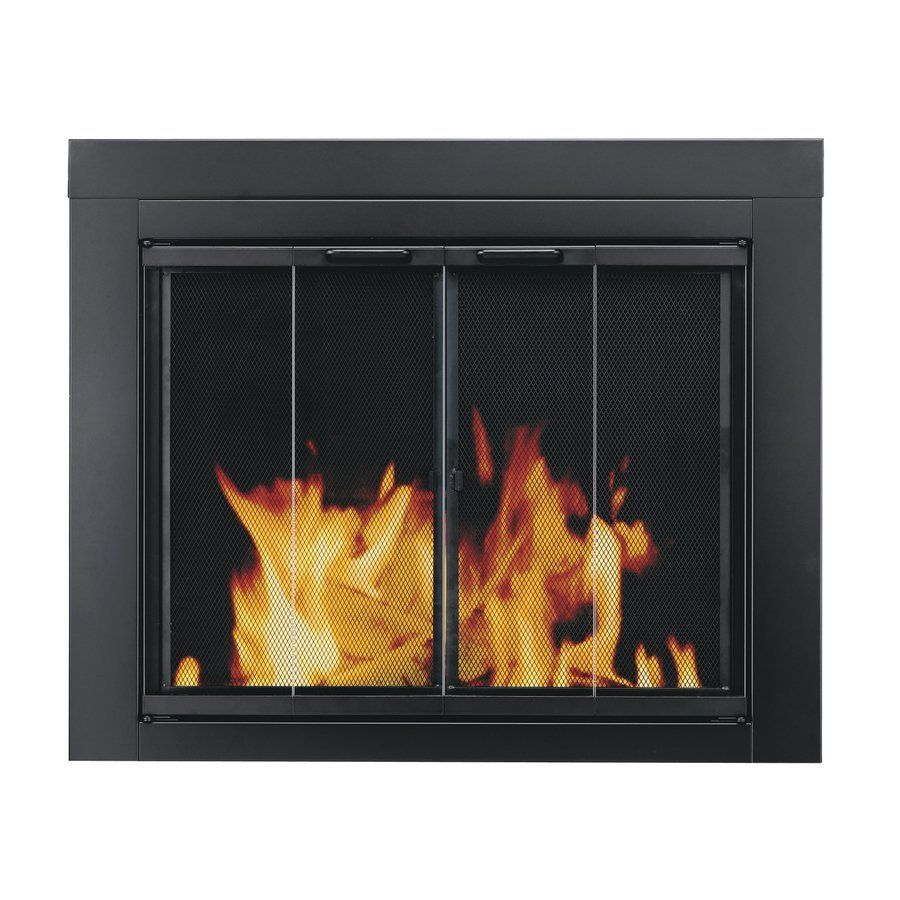 Camino A Legna Ebay Shop Pleasant Hearth Ascot Small Fireplace Doors At Lowe S Canada