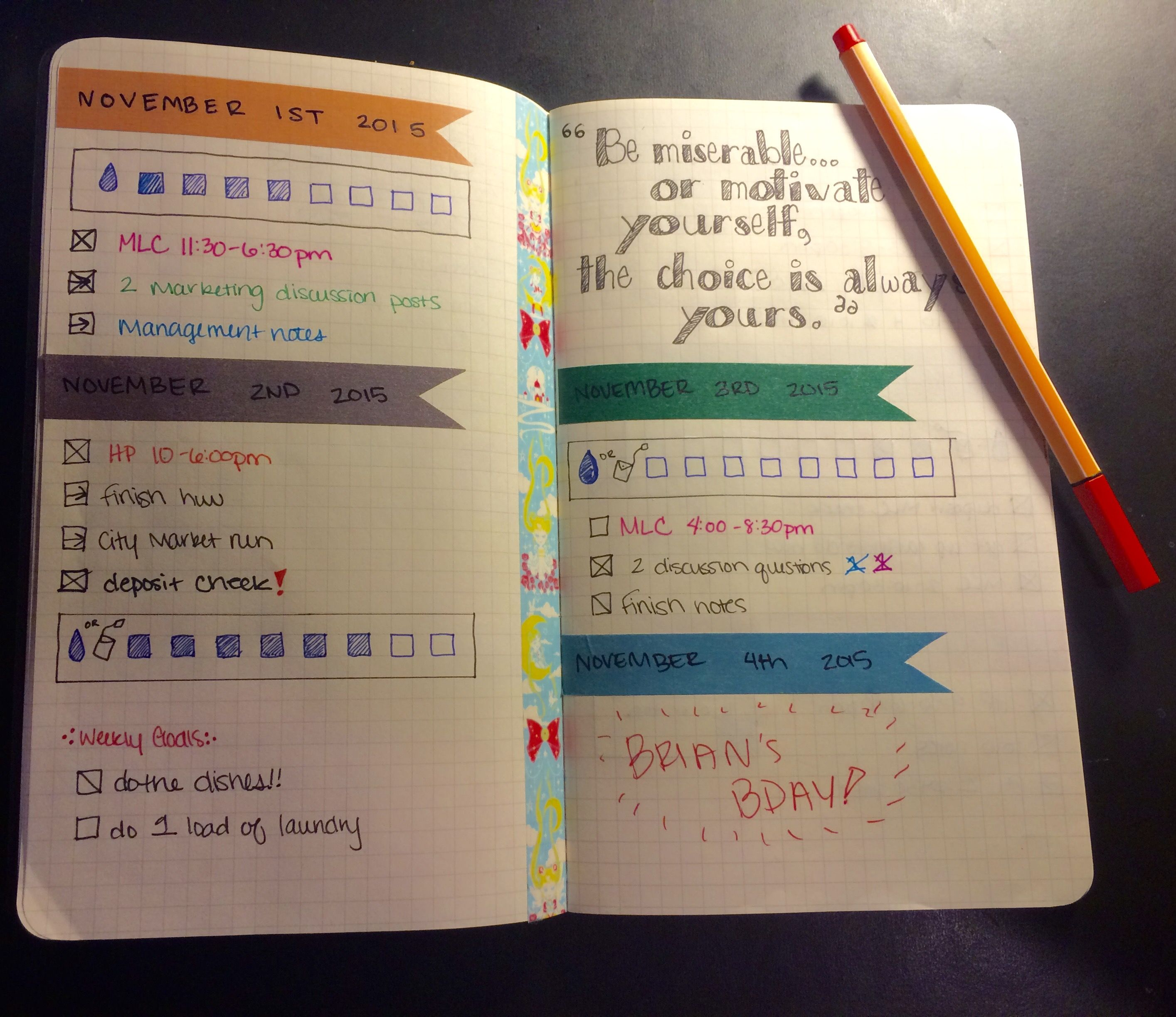 Washi Tale How To Use Washi Tape In Bullet Journal Google Search