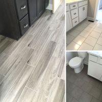 More recent floor tile installs!   Wood Tile   Concrete ...