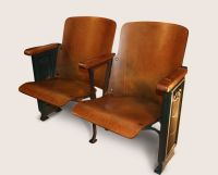 1920's Throwback - Antique Theater Seats | Theater seats ...