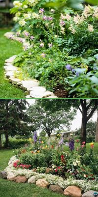 20 Creative Garden Bed Edging Ideas Projects Instructions ...