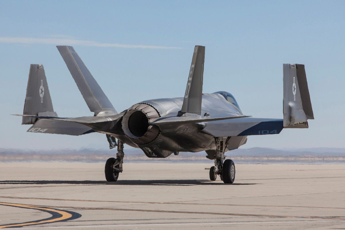 Aircraft Wing The F 35c Is The Only F 35 Version With Folding Wing Tips