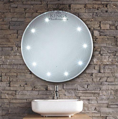 Mirror Design Ideas, Decorative Crafted Round Bathroom Mirror With - designer bathroom mirrors