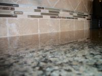 6x6 Graal Tile in SinClair with Bliss Deco Cappuccino ...