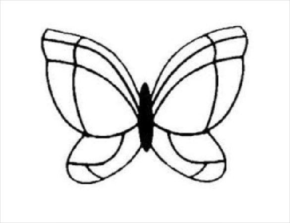 24 views Birthday Pinterest Butterfly template, Chocolate - butterfly template