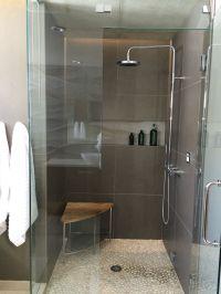 modern bathroom design for teenage boy. Steam shower with ...