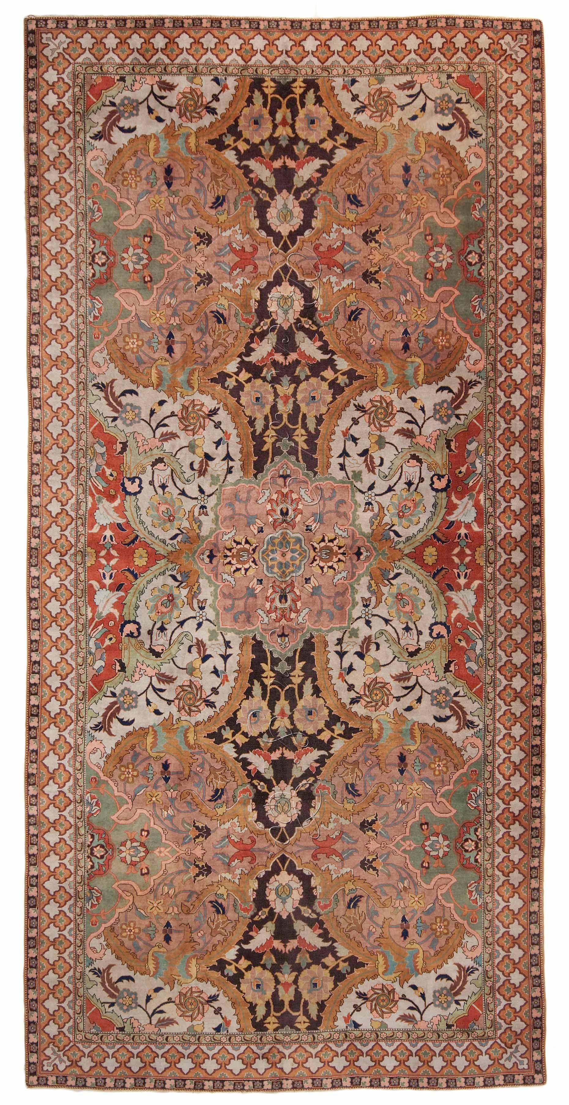 Antique polonaise oriental rug antrr91284