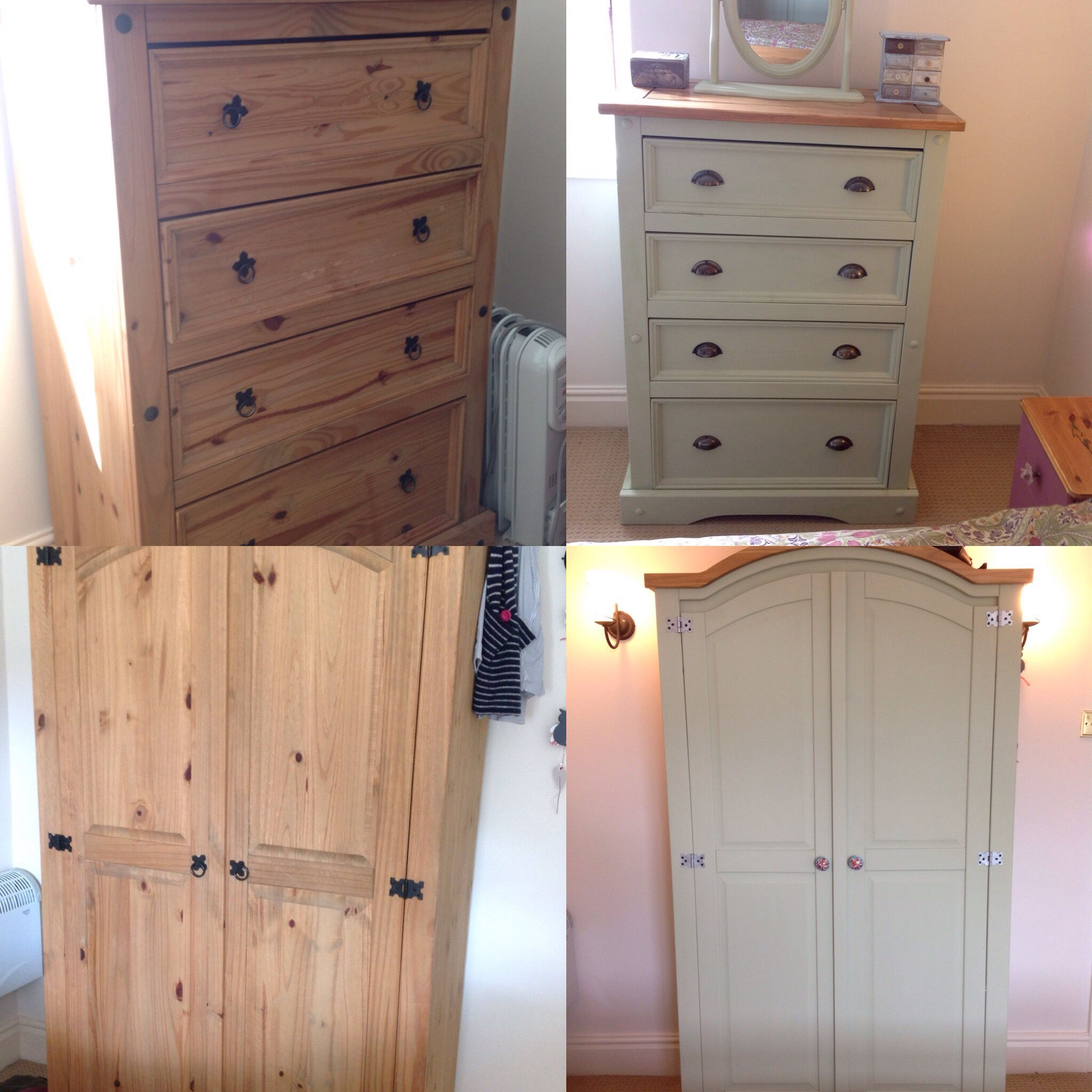 Second Hand Bedroom Furniture Diy Projects Before And After Painting Up Second Hand