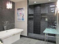 slate Tiles for Bathroom Walls | bathrooms - slate, glass ...