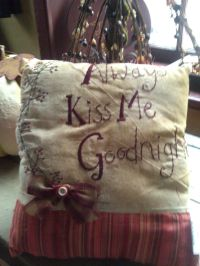 GREAT PRIMITIVE PILLOW 11.00 | Crafts | Pinterest ...