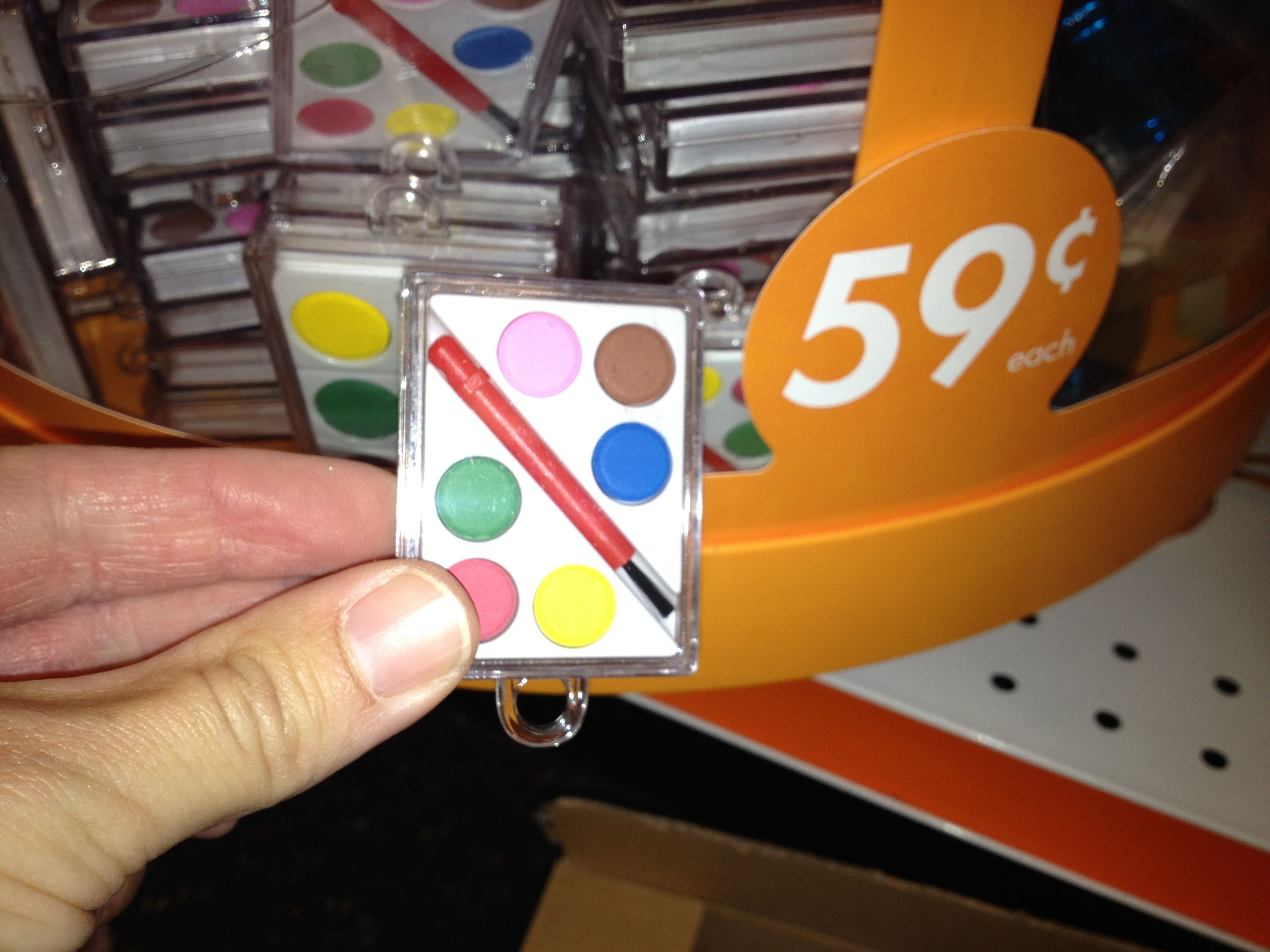 party city wedding Party City has mini watercolor sets for 0 59 Party favors