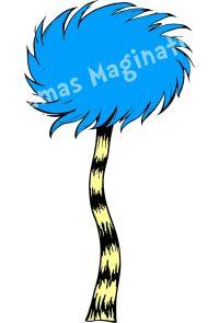 Dr. Seuss Inspired Lorax Truffula Tree Removable/Reusable ...