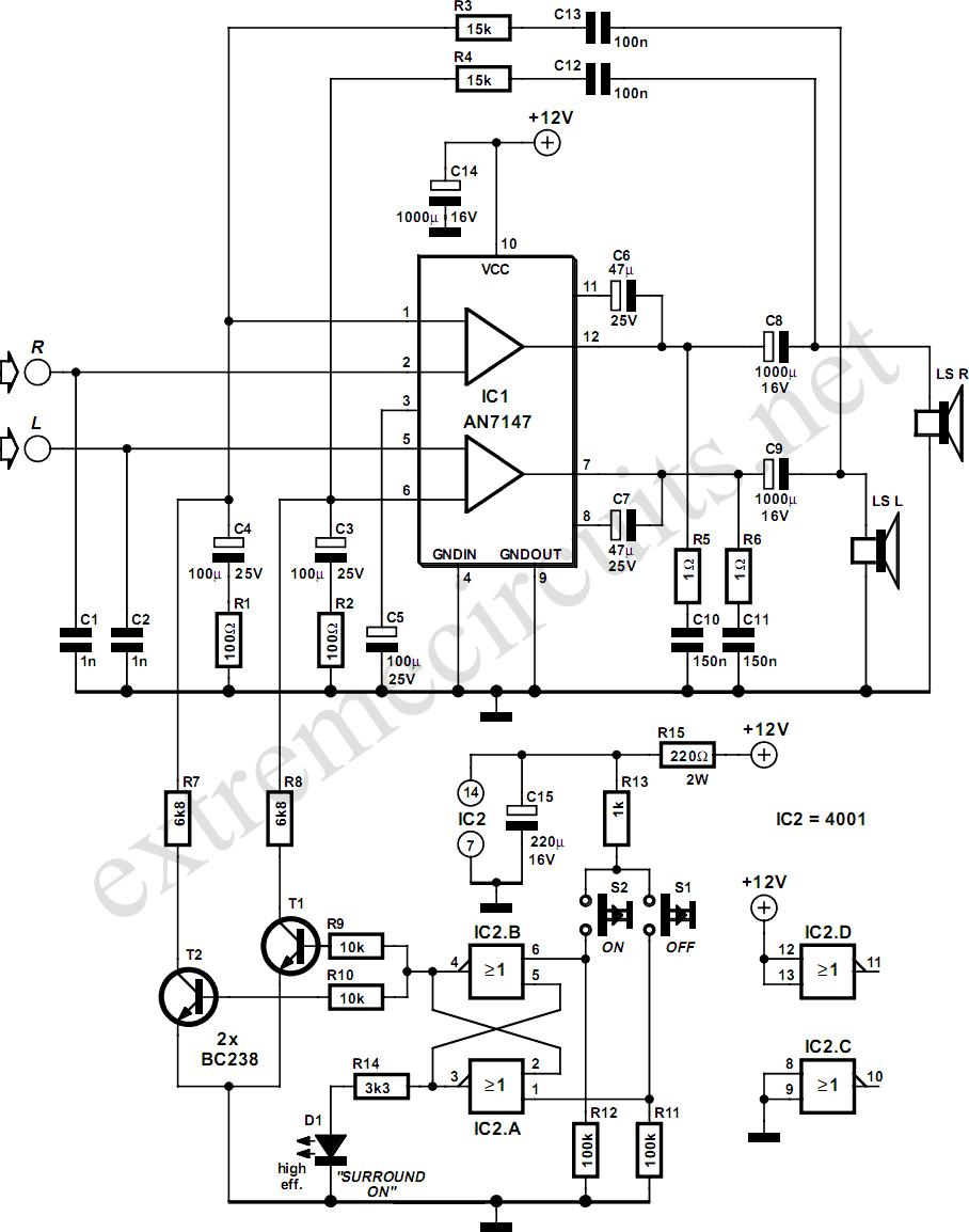 audio electronic circuits tv schematics audio