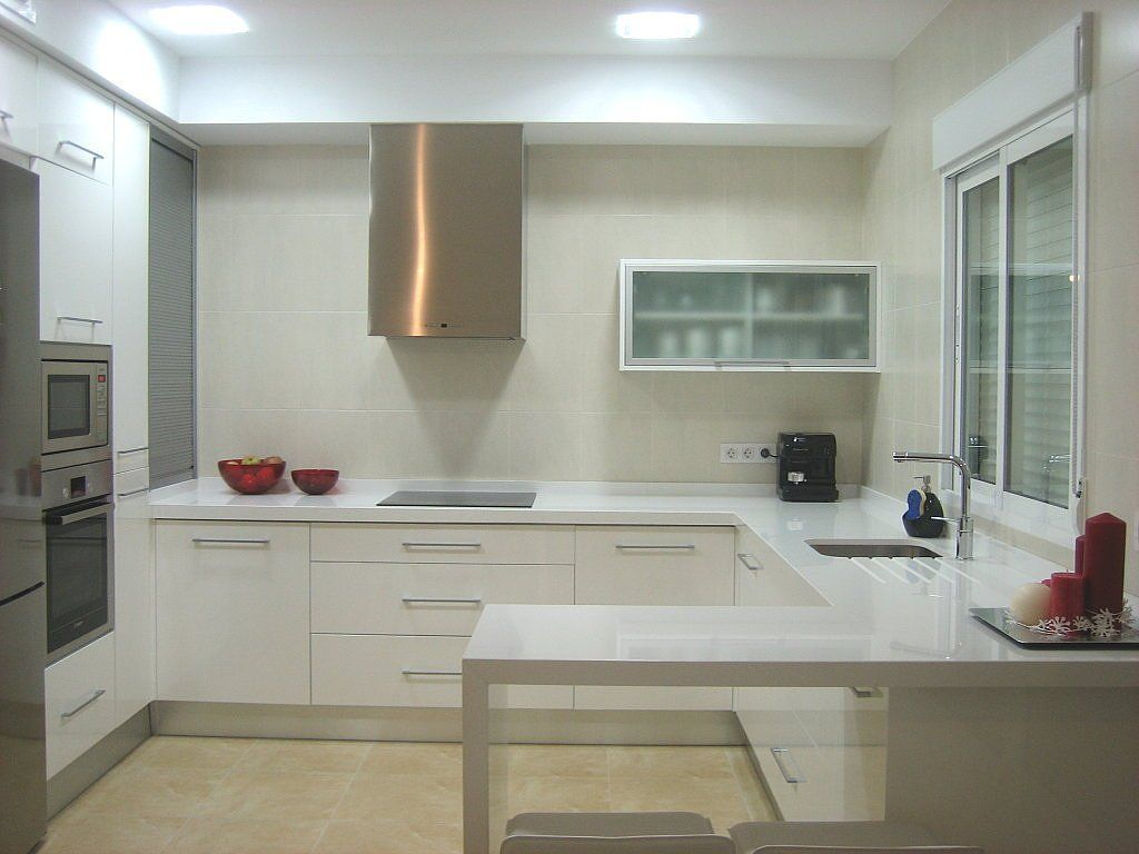 Cocinas Blancas Con Silestone Cocina Blanca Silestone Blanco Ideas Para Kitchens And House