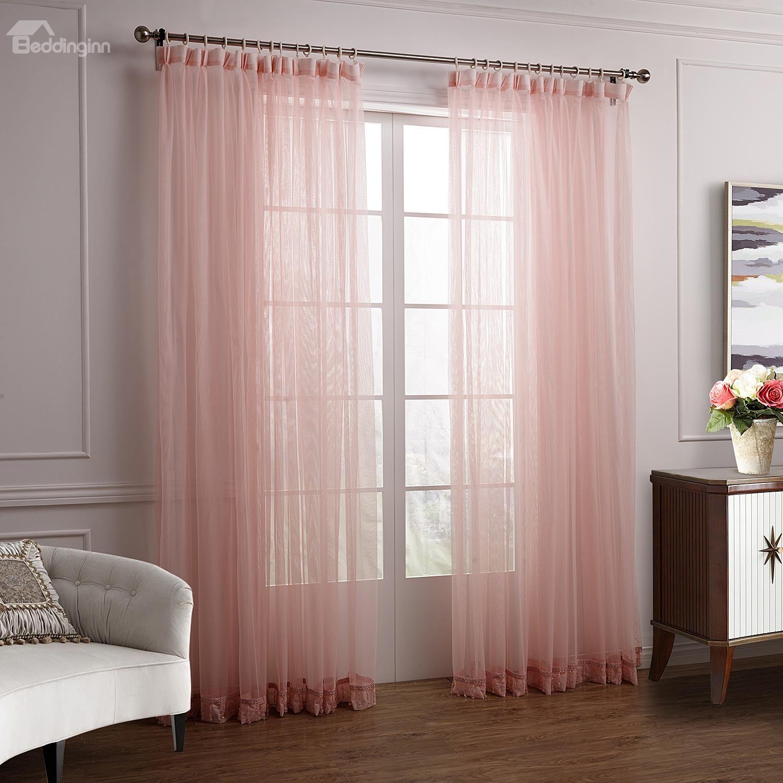 Wonderful lovely elegant pink cinderella custom sheer curtain on sale buy retail price sheer at