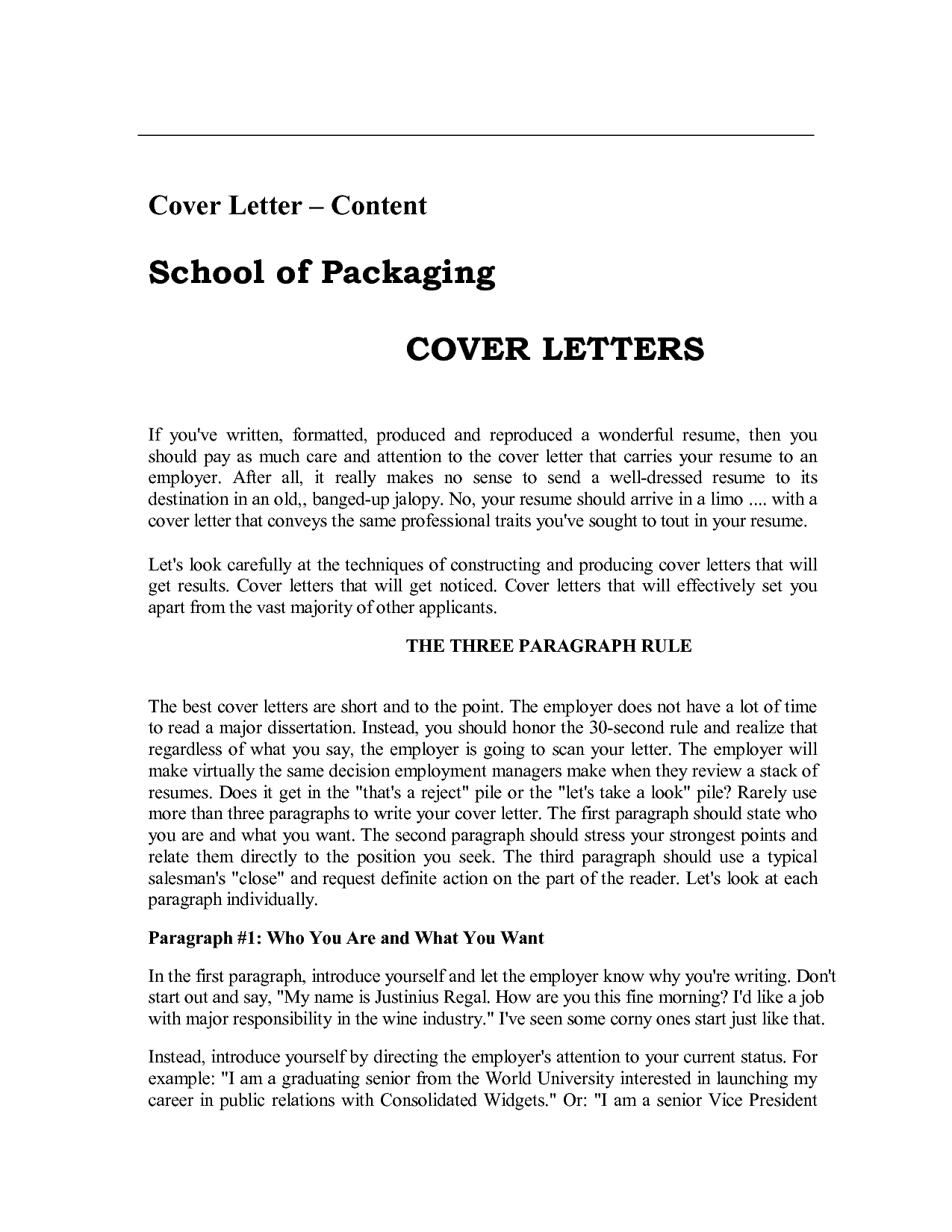 how to write cover letter for resume pdf