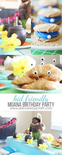 Disney: Moana Luau Birthday Party | Moana, Luau and ...