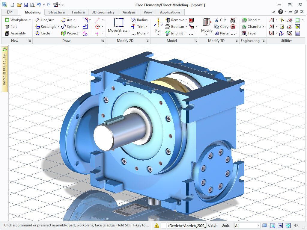Ptc Creo Elements Direct Modeling Direct Modeling