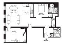 Exquisite Luxury 2 Bedroom Apartment Floor Plans On ...