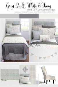 grey dorm room bedding simple dorm room bedding cooridated ...