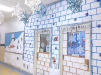 igloo door | CLASSROOM DOOR DECORATING | Pinterest | Door ...