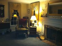 My living room. Trying to keep the colonial period going ...