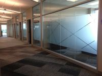 Great Clips Corporate Office had frosted film applied to ...
