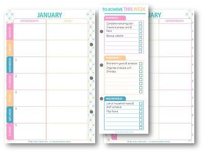 The best and cutest free Weekly planner Iu0027ve seen so far! Surely - free weekly calendar