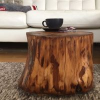 Stump Side Table, Log Side Tables, Log Stool,Rustic Coffee ...