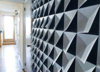 Make it Modern: DIY 3D Felt Wall Panels | Felt, Felting and 3d