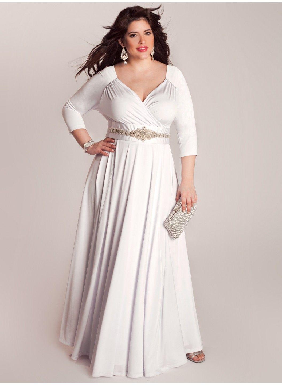 wedding dresses plus size white casual wedding dresses bellerose plus size wedding gown by igigi