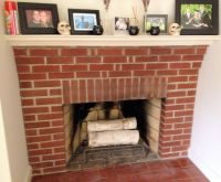 red brick fireplace tile - hearth tiles | Decor ...