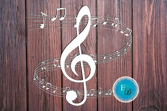 Music Paper Cutting TEMPLATE \/ Treble clef \/ Music sheet \/ Staff - music staff paper template