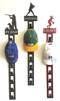 Personalized Baseball Hat Holder: Personalized Baseball ...