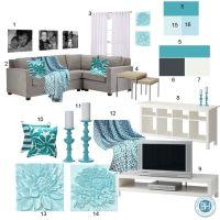 Aqua Color Schemes on Pinterest | Teen Girl Bedspreads ...
