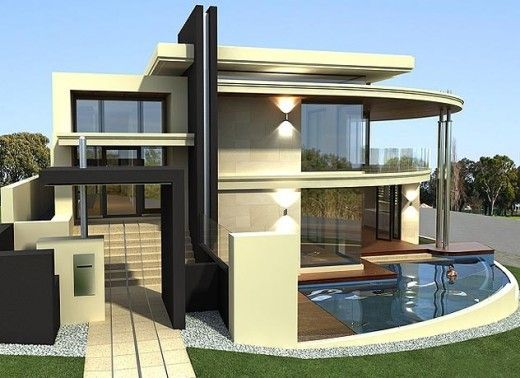 modern contemporary house stylish modern homes designs - homes designs