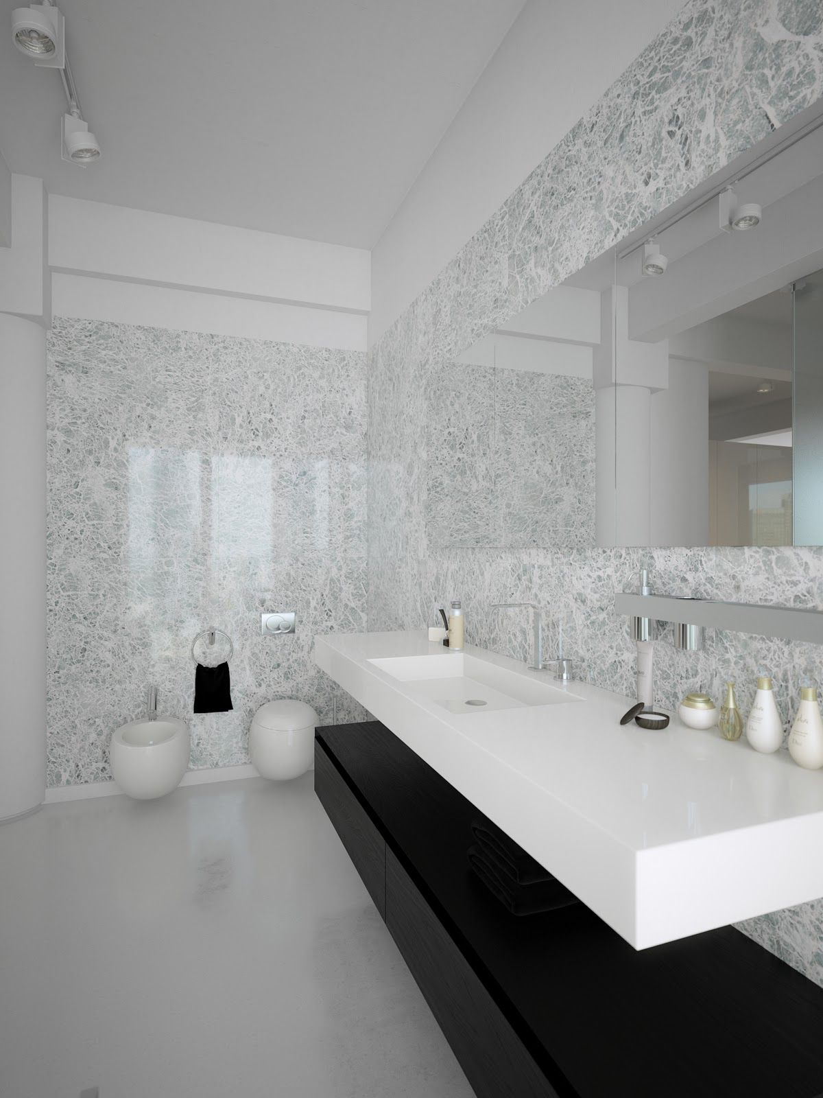 Modern Wall Art For Bathrooms Interior Awesome Black And White Lofts Simplistic Yet
