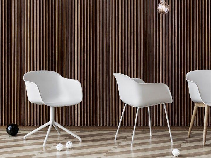 FIBER CHAIR Tube Base Stuhl Esszimmer Büro Muuto Esszimmer - designer stuhl esszimmer