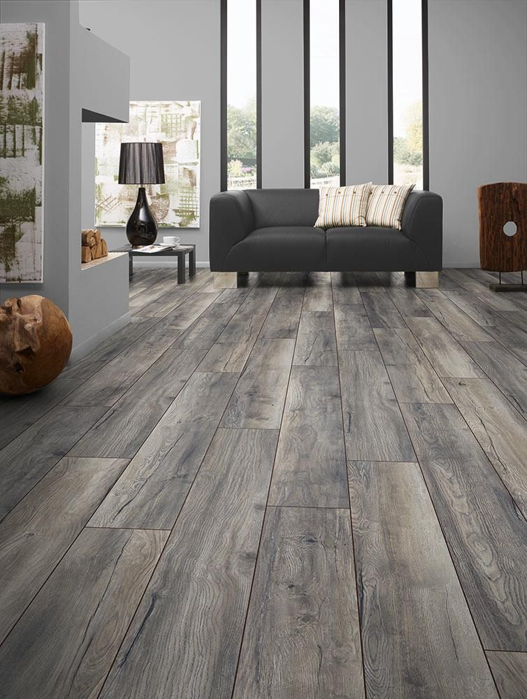BuildDirect u2013 Laminate - My Floor 12mm Villa Collection u2013 Harbour - living room with wood floors