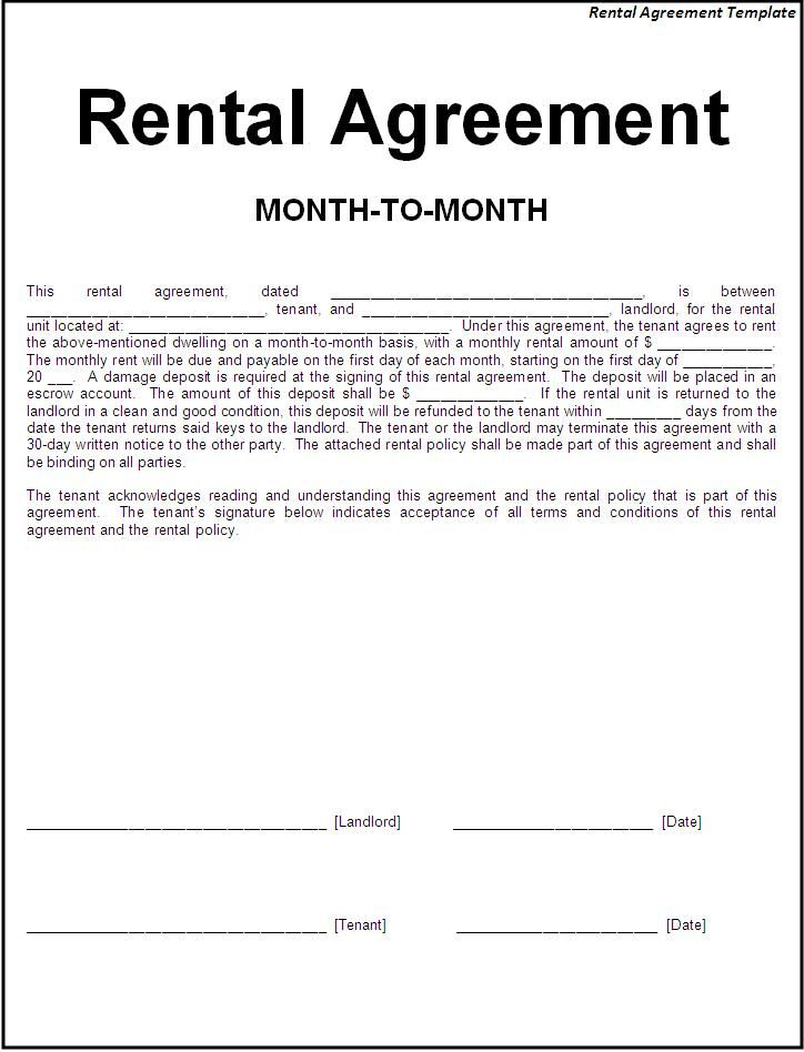Basic Agreement Form Simple Will Form Printable Sample Simple - basic agreement