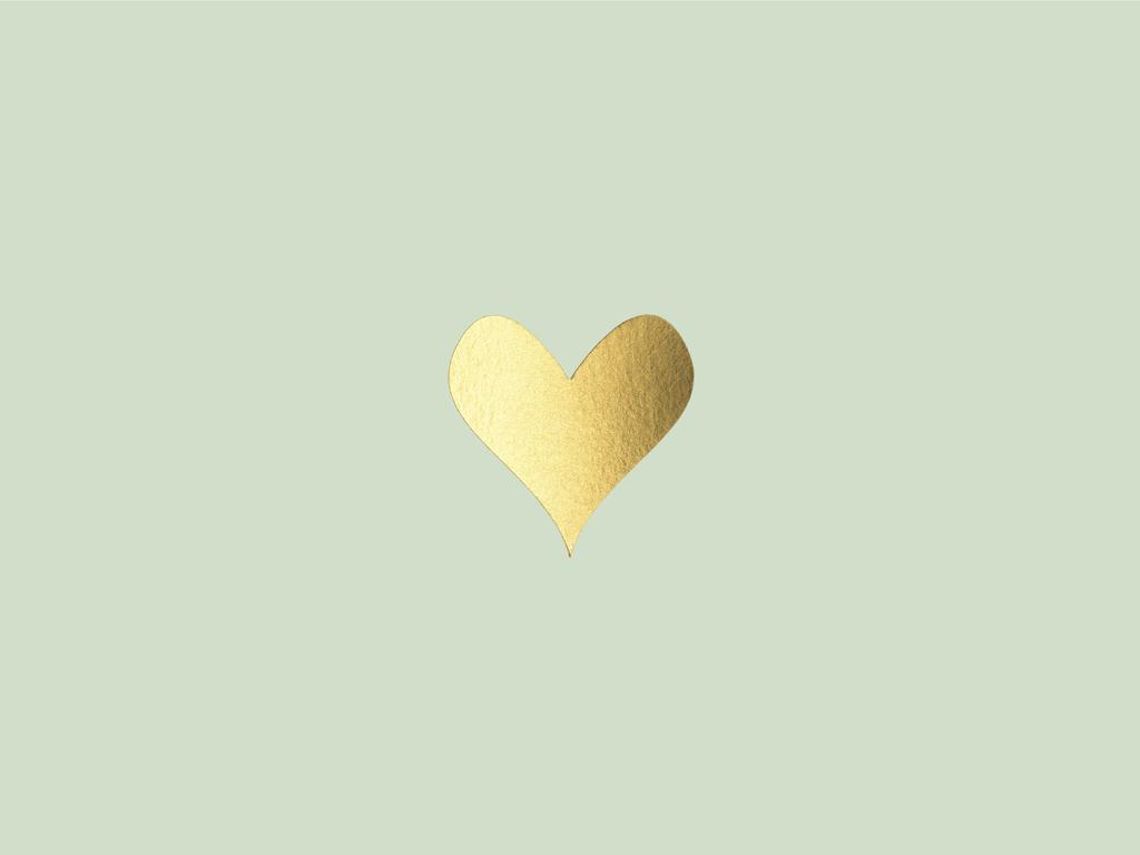 Fall Leaves Wallpaper Macbook Sugar Paper Gold Heart Desktop Wallpaper Beautiful