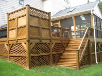 Image of: Types Of Deck Railing Designs | Decks ...