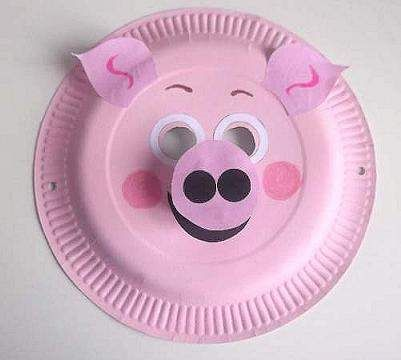 Paper Plate Pig Mask Kids Crafts Pinterest Pig Mask & Beautiful Paper Plate Pig Mask Kids Crafts Pinterest Pig Mask ...