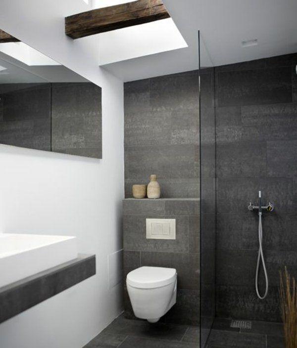 Kleines Bad Fliesen - helle Fliesen lassen Ihr Bad größer - badezimmer hell grauer boden