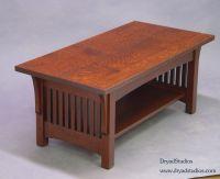 Quartersawn oak Mission- Arts & Crafts- Craftsman ...