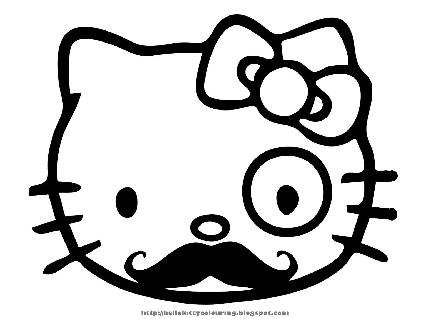 Hello Kitty Kitchen Coloring Pages : Hello kitty kitchen coloring page